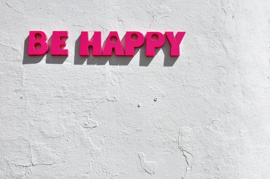affirmations for success - be happy
