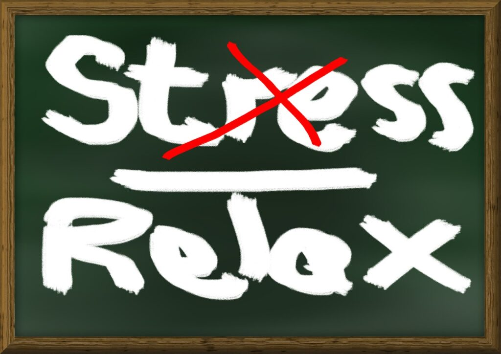 stress, relaxation