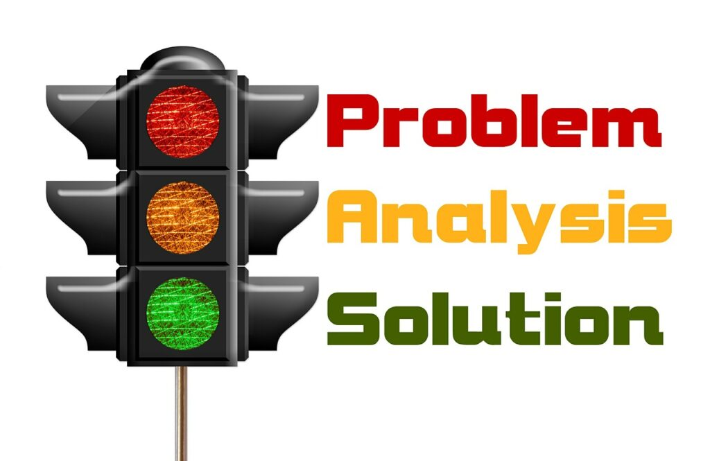 traffic lights, problem, analysis